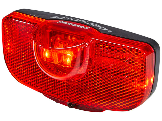 Busch + Müller 4D-Toplight Oświetlenie permanent czerwony/czarny